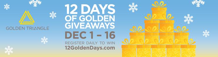 Golden Triangle BID - 12 Days of Golden