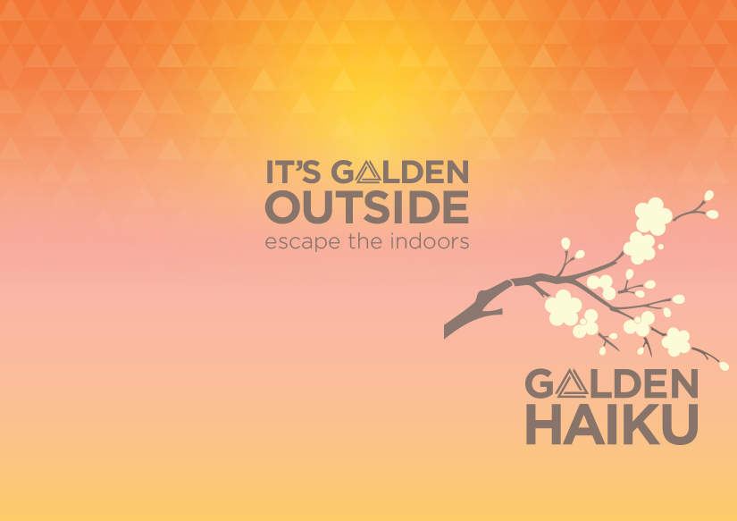 Golden Haiku Are Now on Display